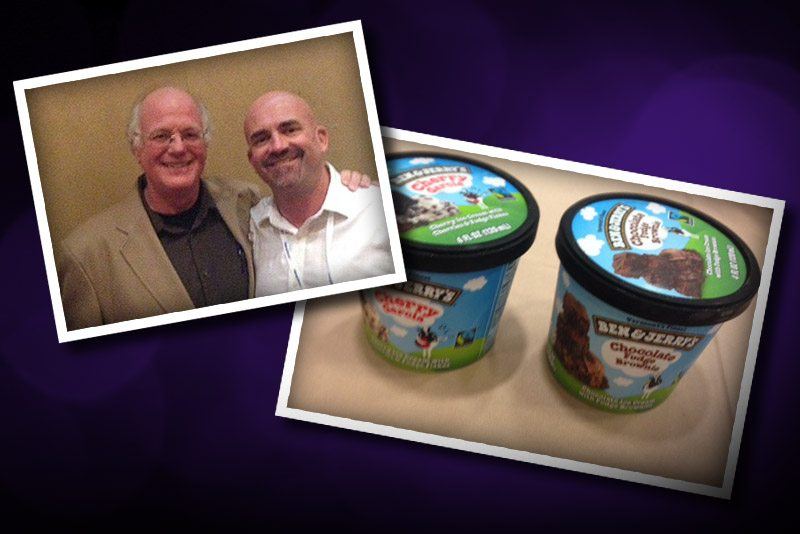 Ben and Jerry's Co-founder Speaks to Marijuana Business Owners