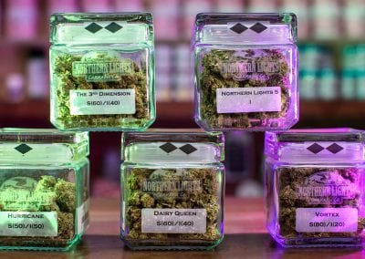 Digital 303 Marijuana Photography: Cannabis Jars With Buds