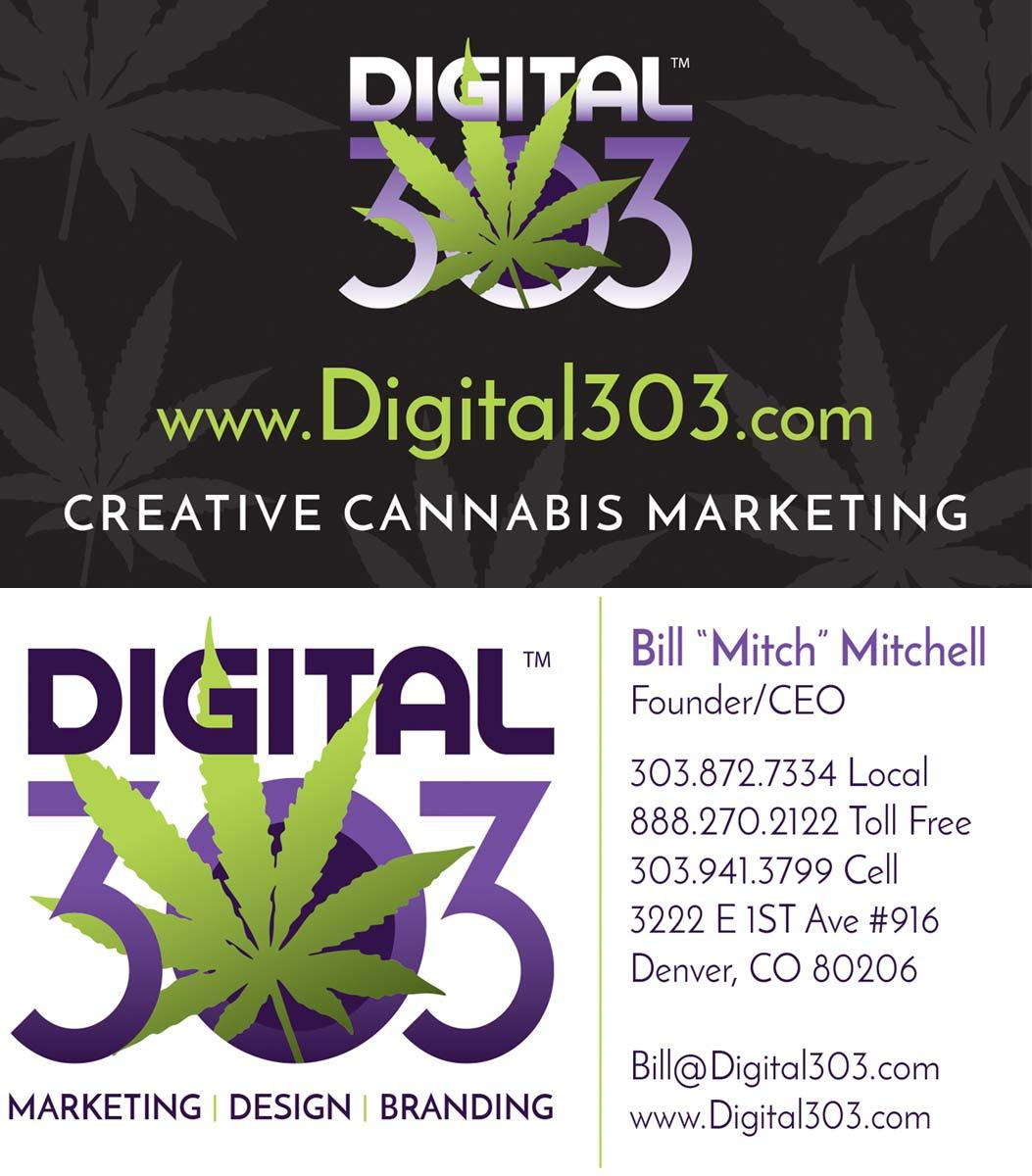 Marijuana Logo Design | Marijuana Graphics | Digital 303
