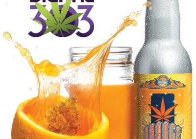 Digital 303 Custom Cannabis Graphic: Orange Crush Cannabis Soda- Keef Cola